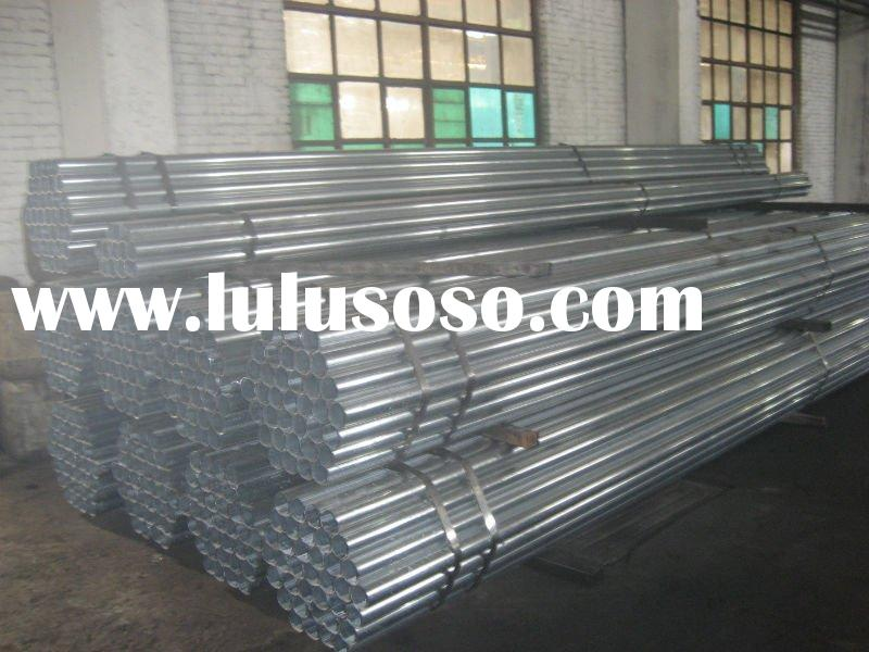 BS1387/1985 GALVANIZED WELDED PIPE