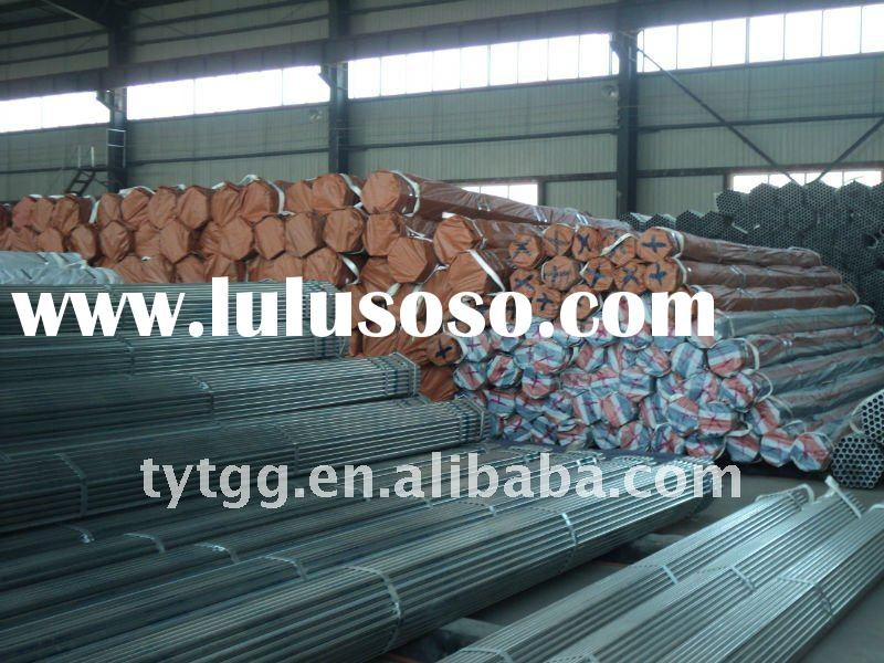 BS 1387 Hot Dipped Galvanized Pipe (round, non-round)