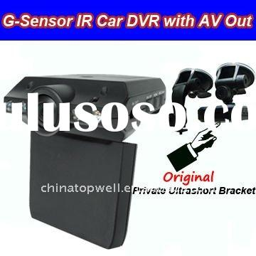 New IR Car DVR with AV Out,No Lose Between Video Clips