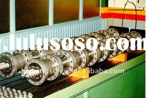 Twin screw and barrel for injection and extruder machine