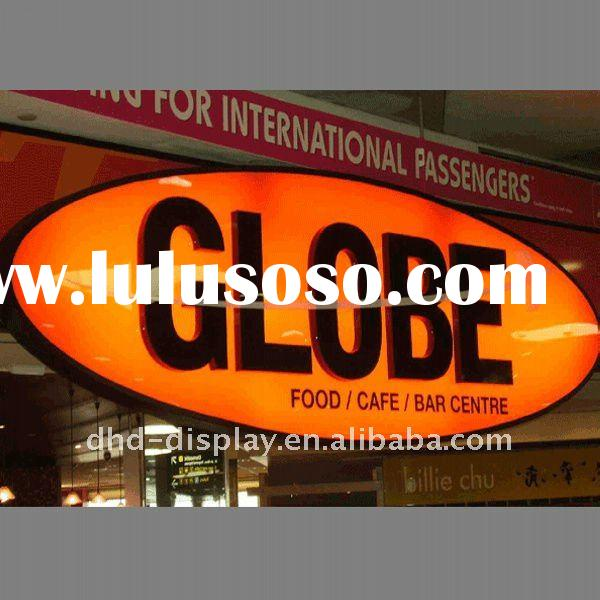 advertising frontlit acrylic led letters and signs