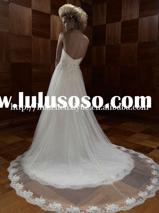 fashion modest design  bridal wedding gown  US-108