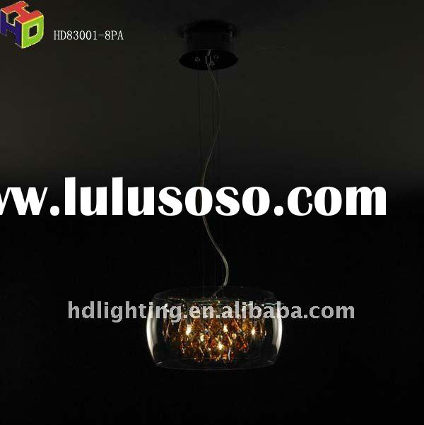 2011 high quality modern crystal ceiling lamp