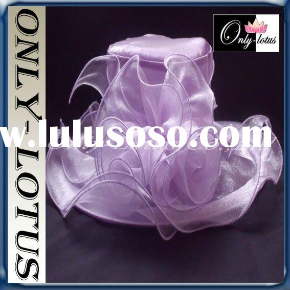 2012 Summer custom style organza hat
