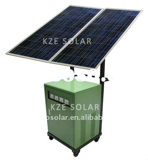 500W solar panel home power system