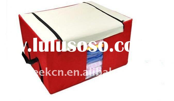 600D Oxford waterproof foldable quilt storage box
