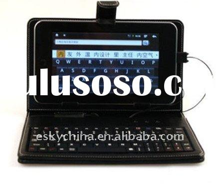 7-inch Leather USB KeyBoard Case~Android Tablet PC-ePad