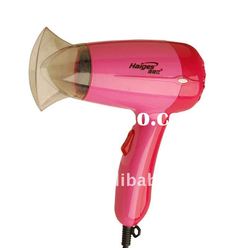 850W mini travel hair dryer
