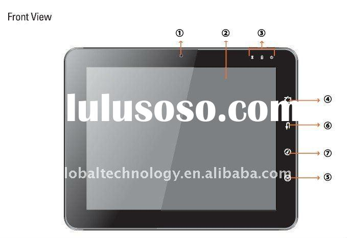 9.7 inch N455 Capacitive Tablet  PC with 1.3M Webcam