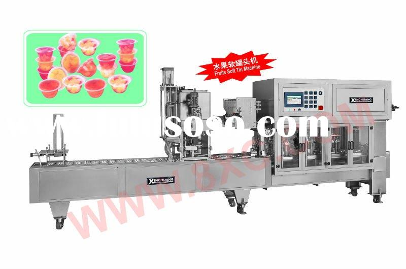 CFDL-3 Fruit tin Auto Seallling Machine