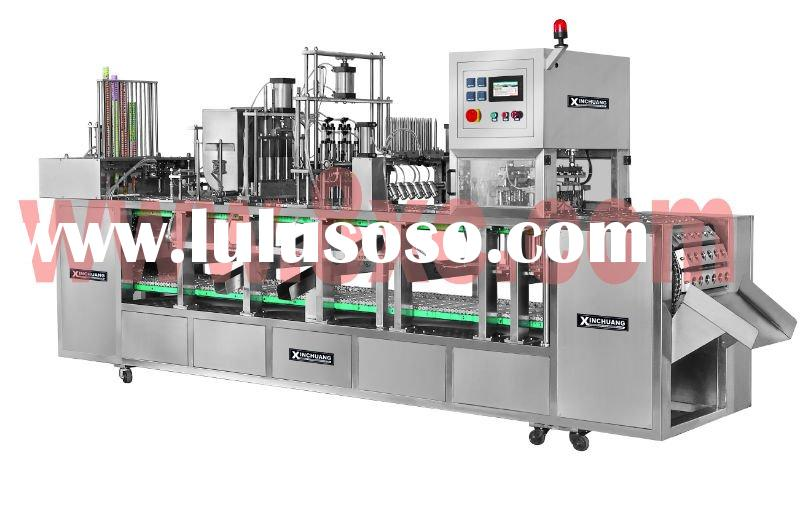 Calippo ice cream auto filling_sealing machine