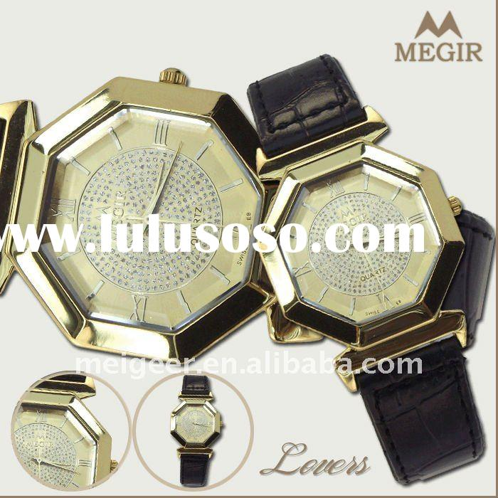 Fashion Leather Pair Watch