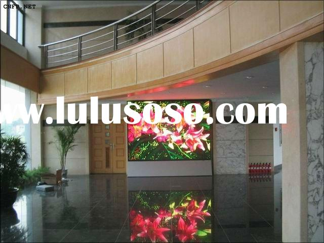 Good and reliable supplier indoor led display p10