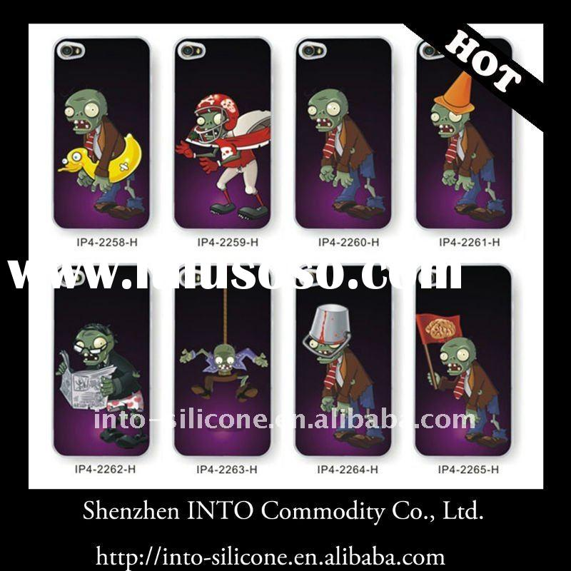Halloween promotional gifts/Zombies TPU Case for iPhone 4