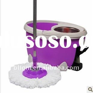 Hot sale 2011newest design ROHS  approved spin dry mop