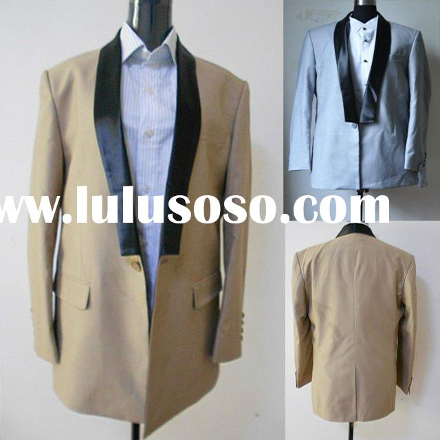 New arriwal One Button vented Wool suit Men Suit Jacket and Pants