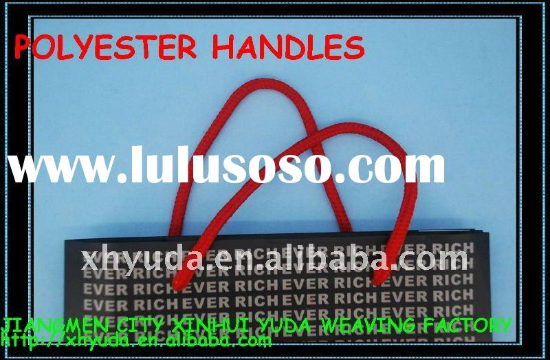 Polyester Handle Rope Handle Cord Carrying bag ropes Custom handle ropes