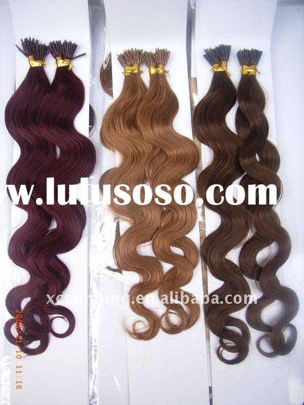 U tip I tip Indian remy human hair extensions