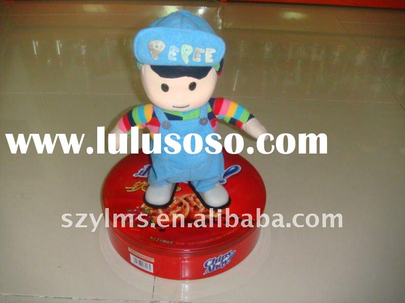 blue pepee singing and dancing doll for wonderful time