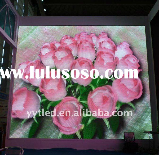 full color outdoor electronic led advertising board