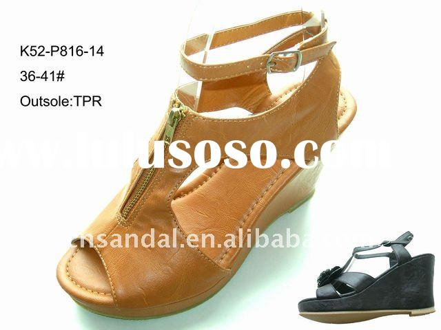 ladies fashion sandal 2011 summer