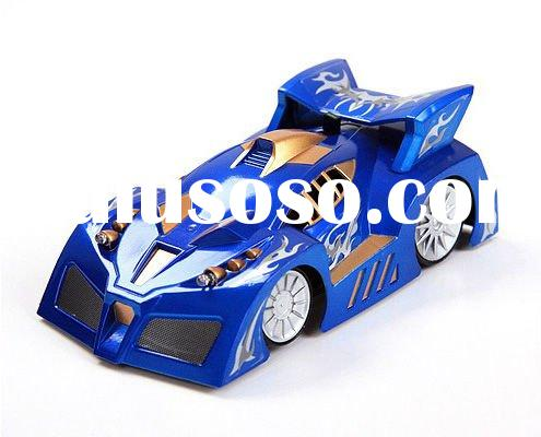 new design high quality climbing wall rc car 4Ch blue color