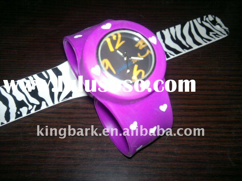 2011 popular designed slap watch