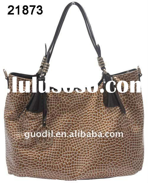 2011 the hot sales classical ladies genuine leather handbags
