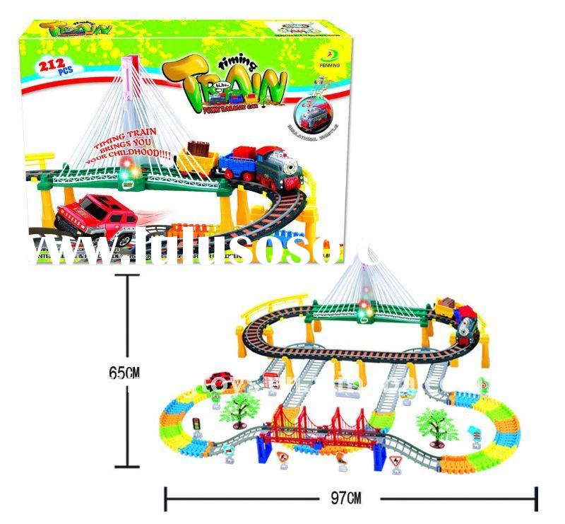 212PCS Time train with music