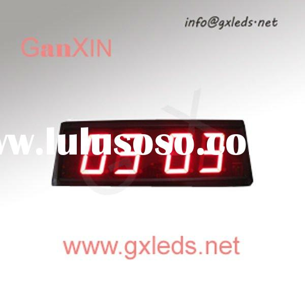 2.3inch 4digital red indoor quality led digital clock