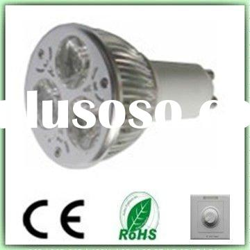 3W GU10 dimmable led spotlight lamp