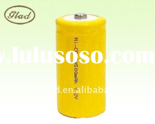 4.5AH rechargeable Ni-Cd battery for LED lights