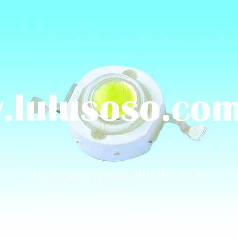 5500-6500K pure white 150mA current 3.0-3.4 voltage epistar chip size 24mil 0.5W high power led