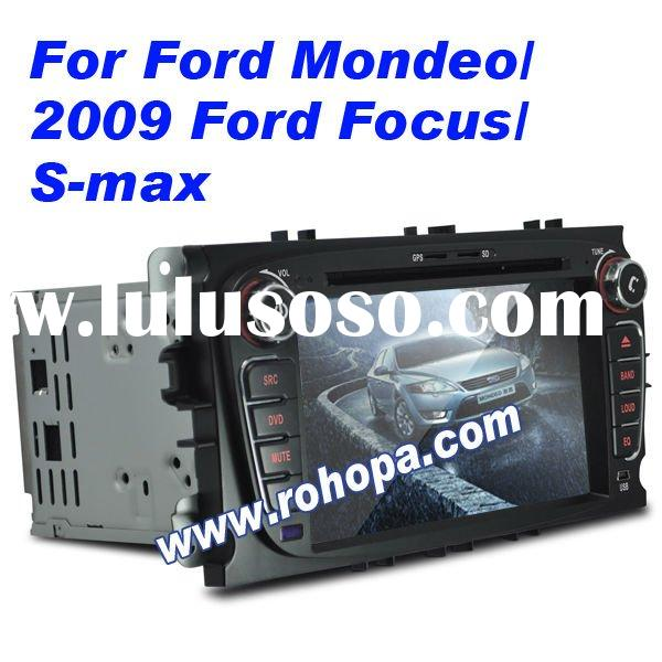 7inch double din auto radio car dvd ford focus mondeo with gps canbus bluetooth TV