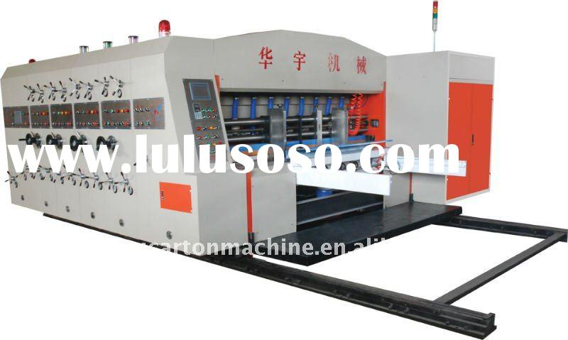 DGHY-A: (Speed:0-140carton/min) Series auto printing slotting die cutting machine for producing cart