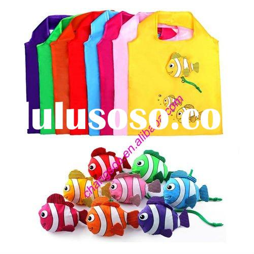Factory sell new design eco-friendly fish shopping bag