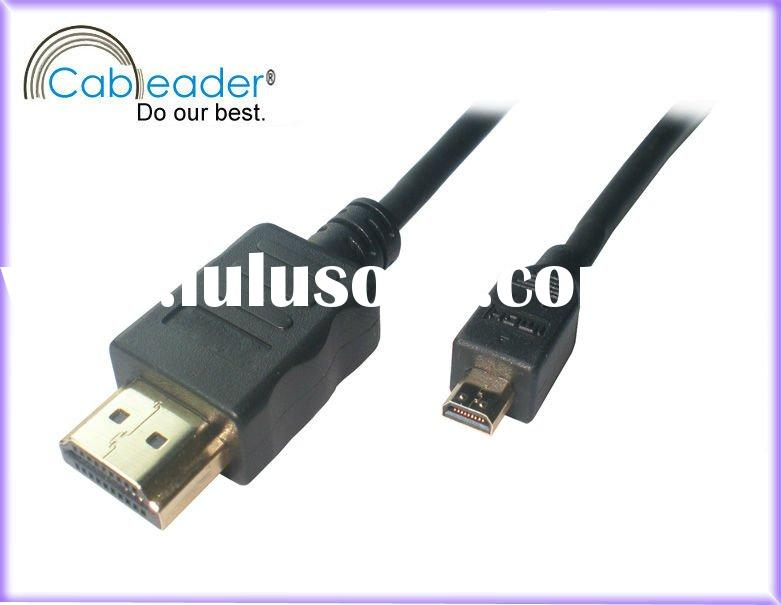 High performance micro hdmi cable A Type Male To D Type