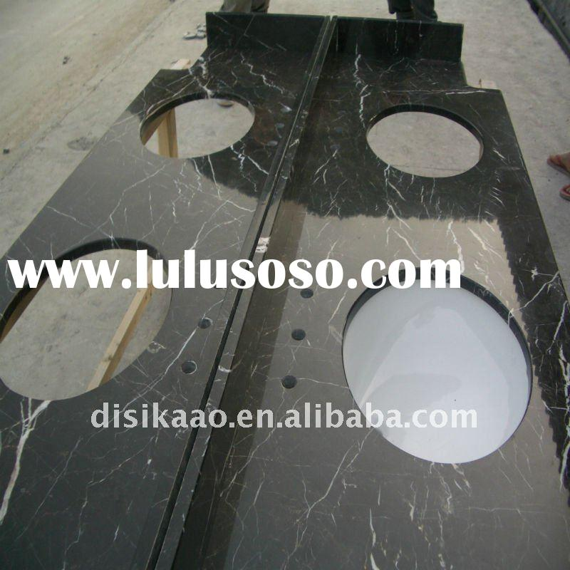 Hot Sale! Bathroom Black Marble Countertop