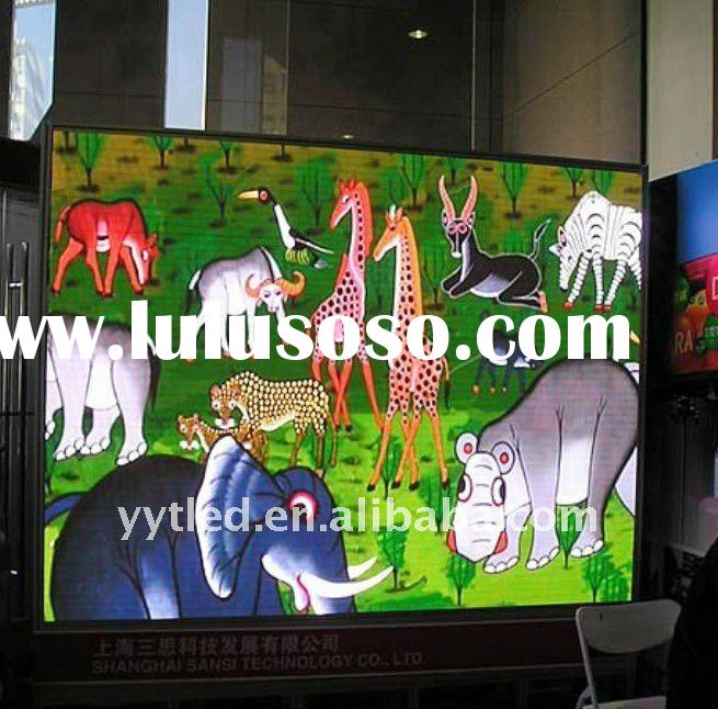 P10 RGB outdoor led screen for advertising
