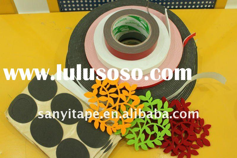 PE/EVA/PVC/EPDM double side foam tape
