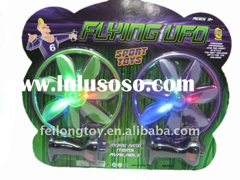Pull string plastic frisbee toy/flying disc/flying disc