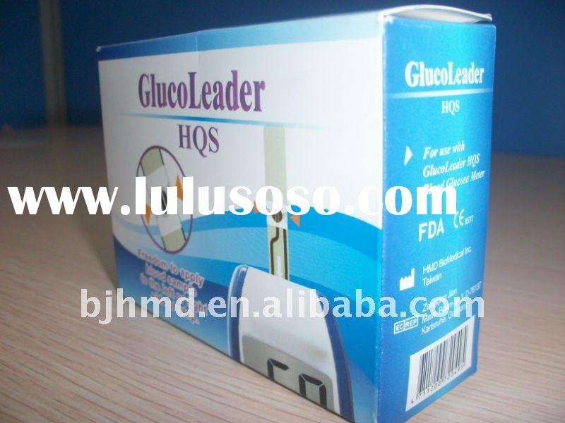 blood glucose meter test strips (HQS model)