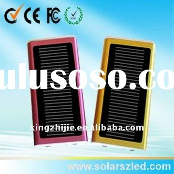 1300mA rohs solar cell phone charger