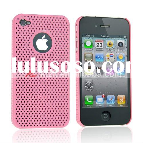 2011 new design mobile phone cover light red color