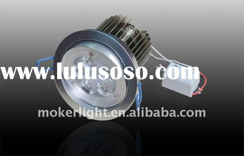5W aluminium high efficiency performance in heat dissipation LED Down Light