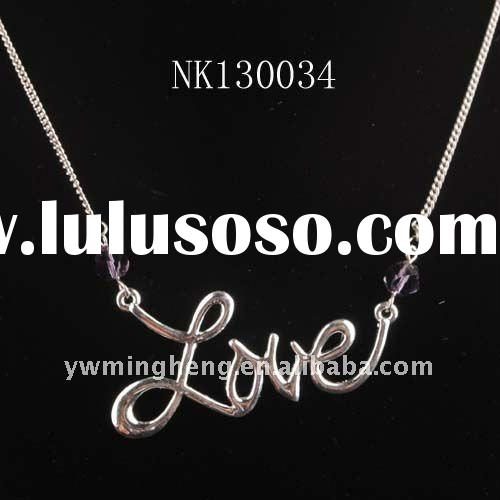 Christmas love sign Promotion jewelry gift