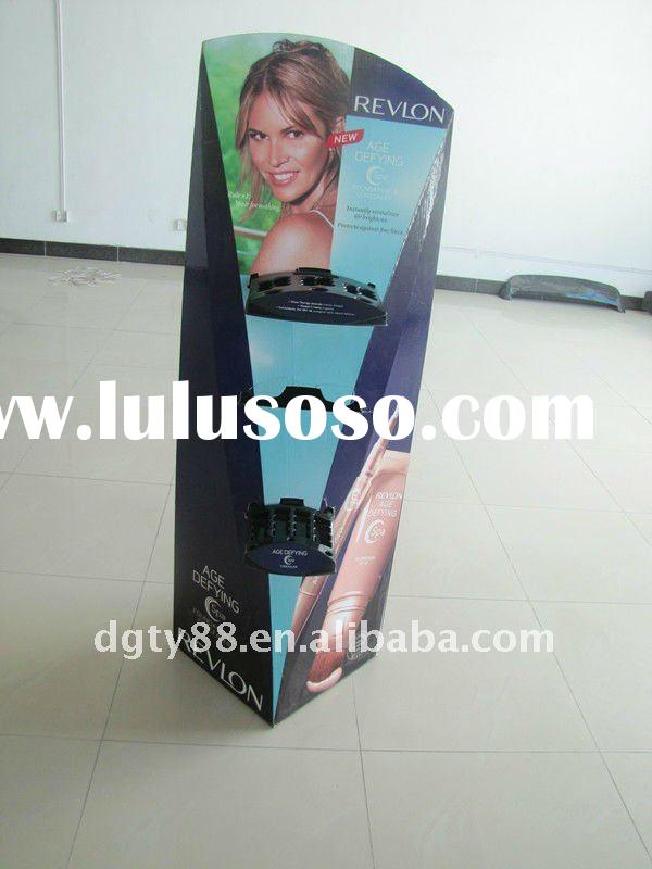 Cosmetic display stand for promotional