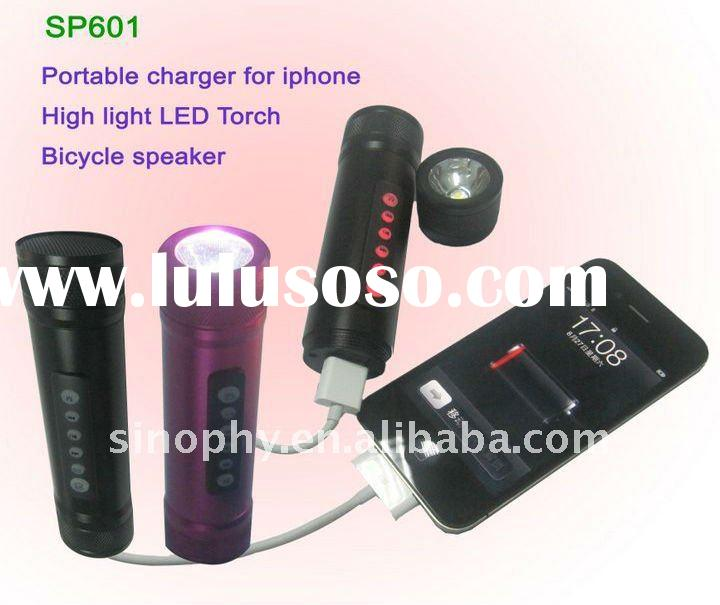 High Quality mini Speaker with Torch