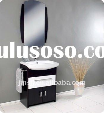 Modern Europe style solid wood  bathroom furniture KB16-1