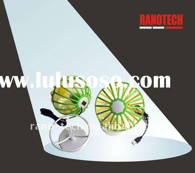 Newest Fashionable earth shaped mini USB fan